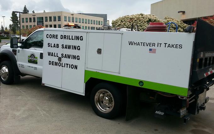 Concrete Cutting, Core Drilling & Demolition - Sacramento, CA